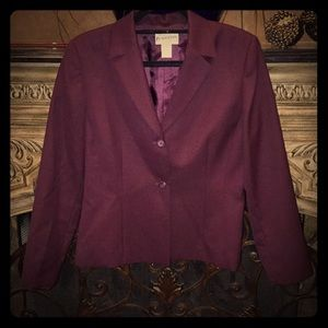 Pendleton Virgin Wool Woman's Suit
